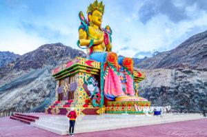 Maitreyi Buddha, Nubhra, Ladakh